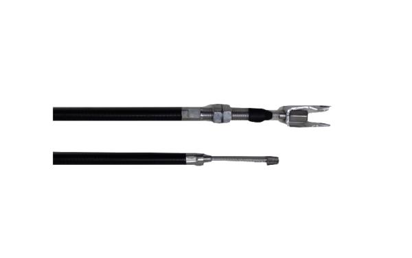 Câble de frein à main longueur totale 131.5cm longueur gaine 90cm pour CHATENET BAROODER Mister vsp pièces détachées de voitures sans permis pas cher