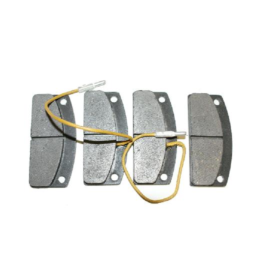 4 Plaquettes de frein avant 30 mm piece voiture sans permis Mister VSP